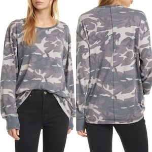 NWT Free People Arielle Long Sleeve Top